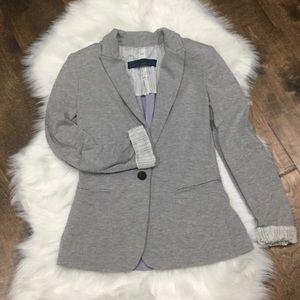 Zara basic XS cotton blazer sweater